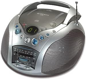 Roberts CD9959 Swallow LW/MW/FM Radio CD Player - Grey/Silver
