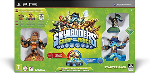 Skylanders Swap Force - Starter Pack [Importación Inglesa]: Amazon.es: Videojuegos