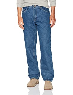 c934ba22c7a Wrangler Rugged Wear Men's Woodland Thermal Jean at Amazon Men's ...