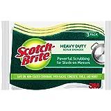 Scotch-Brite Heavy Duty Scrub Sponge, Powerful Scrubbing for Stuck-on Messes, 24 Scrub Sponges