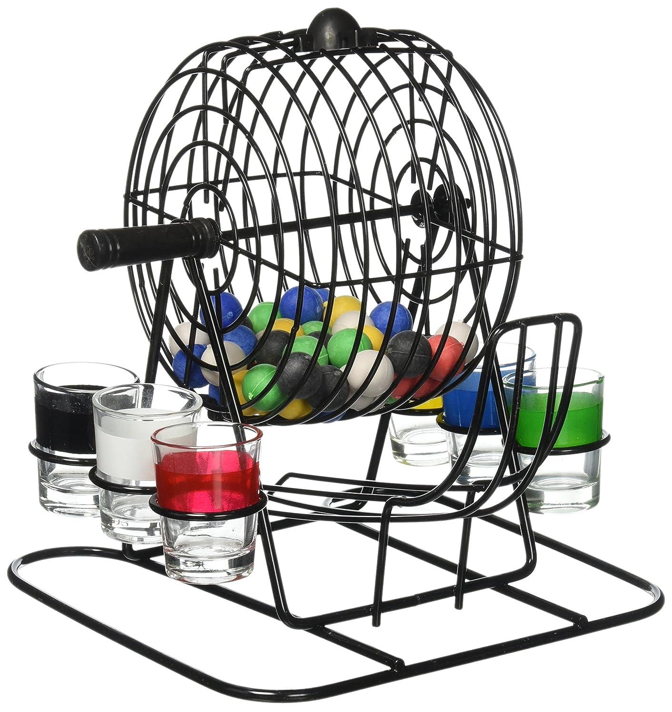 直送商品 Kole od803 Imports od803 Bingo Bingo Drinkingゲームwithケージ&ショットメガネ Kole B00QCUCZ9G, デイジードッグ:50ce7957 --- vietnox.com