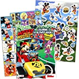 Bendon Mickey and The Roadster Racers Jumbo Coloring and Activity Book Bendon Inc 41737
