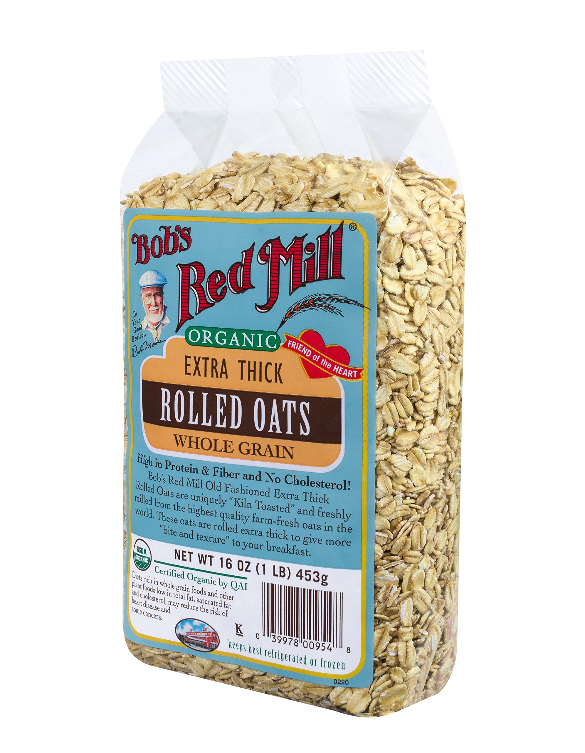 Bob's Red Mill Organic Extra Thick Rolled Oats, 16-ounce by Bob's Red Mill (Image #8)