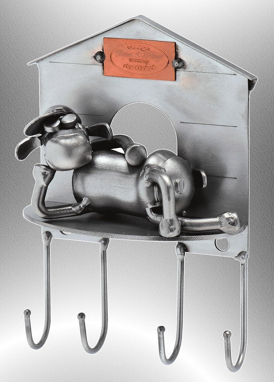 Original Schraubenm/ännchen Wohnaccessoire handgefertigt Metall Art Geschenkideen Schl/üsselhalter Deko Skulptur Schl/üsselbrett Pferd /& Hufeisen Boystoys HK Design