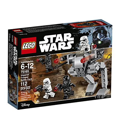 Amazoncom Lego Star Wars Imperial Trooper Battle Pack 75165 Star