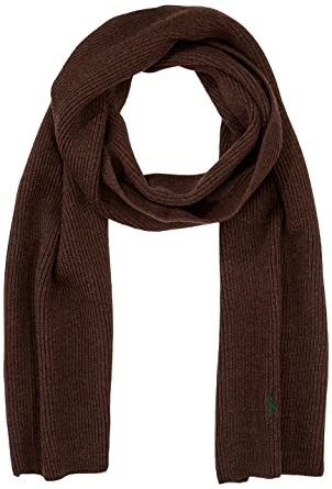 Polo Ralph Lauren Scarf, Echarpe Homme, Braun (Dark Brown Heather 26Nh), 200ac88fc92