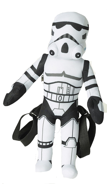 "Zoofy International Star Wars 17/"" Plush Backpack Stormtrooper"