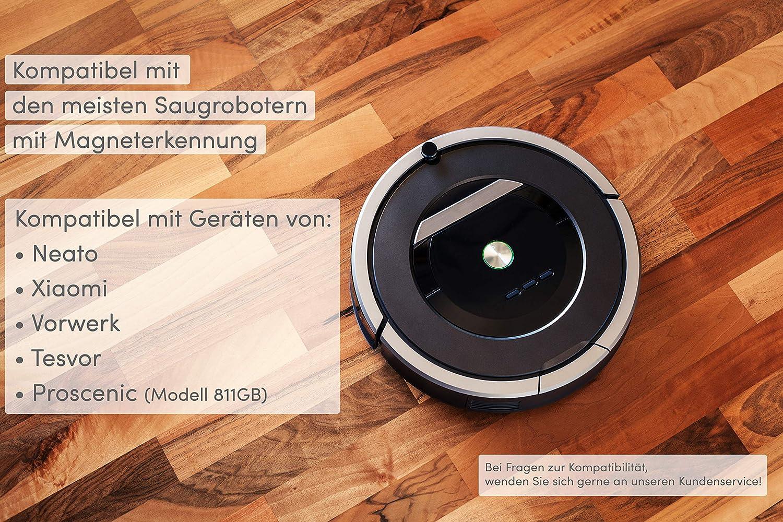 RIsxffp Marcador magn/ético de la Pared Virtual de 2m para Barrido por Robots de Xiaomi Roborock