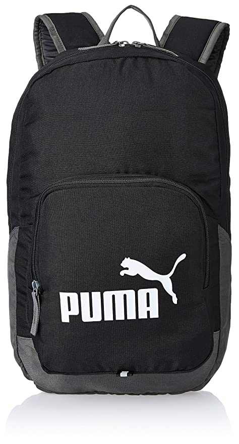 97967d977a6b Puma Black Small Backpack (7358901)  Amazon.in  Bags