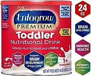 Enfagrow Premium Omega 3 DHA Prebiotics Non-GMO (Formerly Toddler Next Step) Toddler Nutritional Milk Drink, Natural Milk Fla