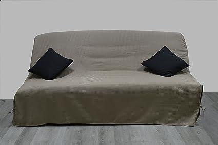 Funda de sofá-cama con cierre mediante cintas de nido de ...
