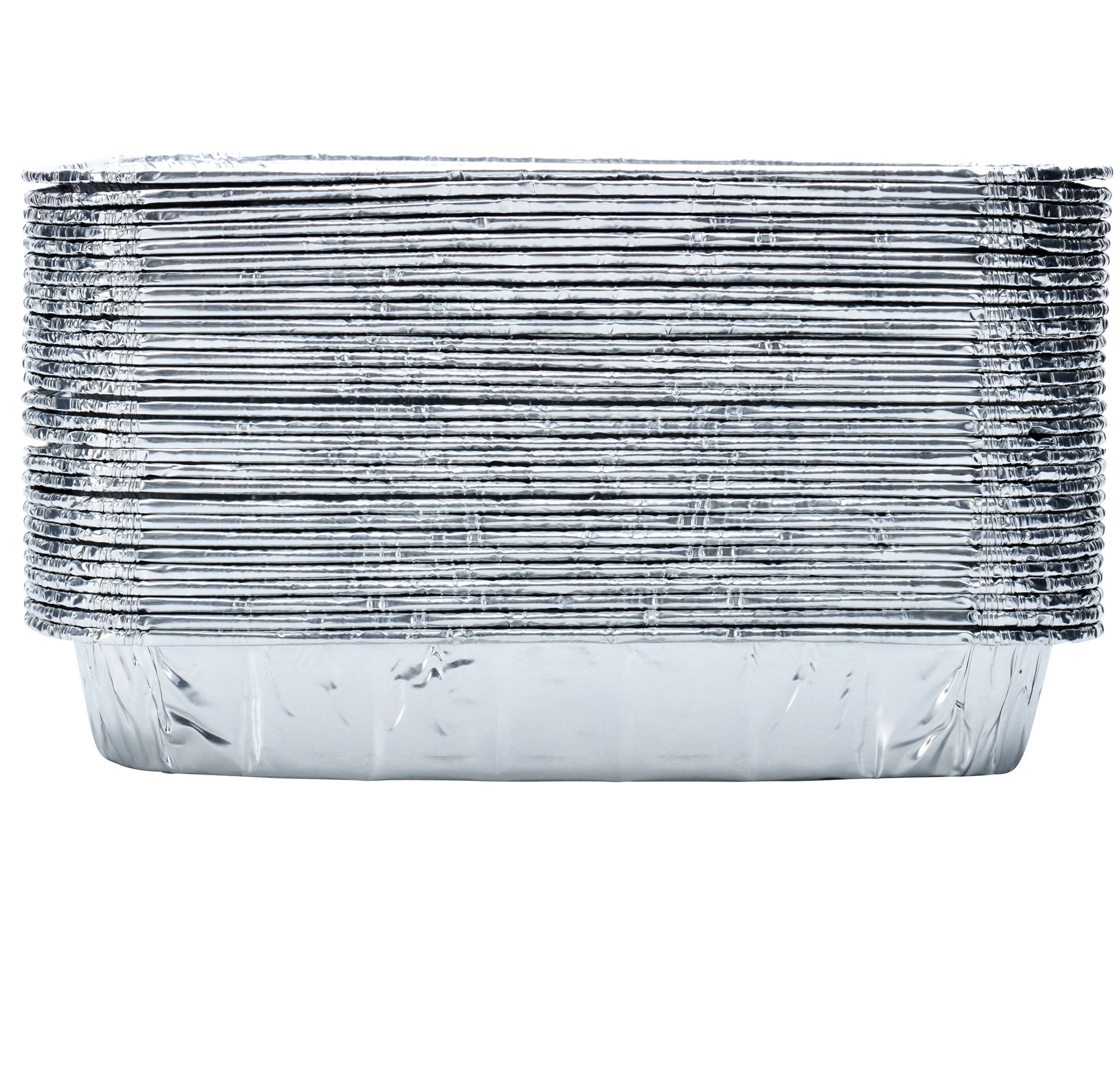 DOBI (30-Pack) Weber Grills Compatible Drip Pans, Bulk Package, Aluminum Foil BBQ Grease Pans, 7.5'' x 5'' by DOBI (Image #5)