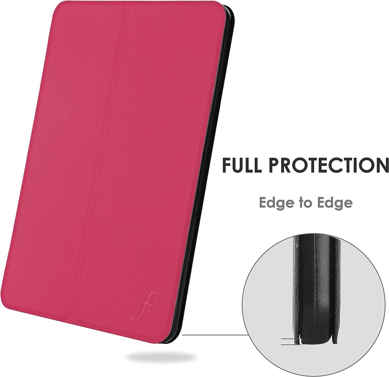 FC H/ülle f/ür Neue Fire HD 10 Tablet Stift H/ülle St/änder Schutz  Fire HD 10 Tablet Smart Auto Schlaf Wach Ultra D/ünn /& Leicht 9. Gen 2019 /& 7. Gen 2017 K/önigsblau