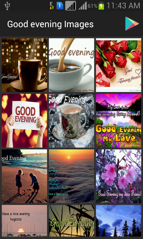 Amazoncom Good Evening Images Appstore For Android