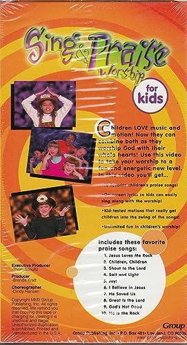 Amazon com: Sing & Praise Worship for Kids [VHS]: Movies & TV