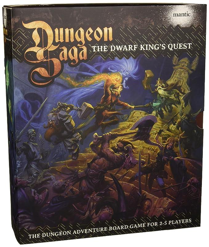 Mantic Games Envoyé Premier Dungeon Saga: Retour De Valandor Heroquest
