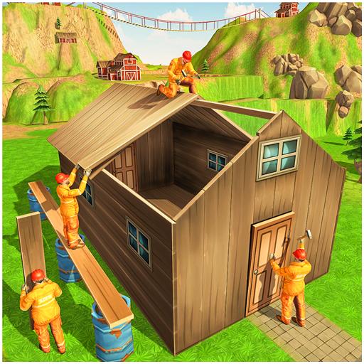 Jungle Hut Construction House- Building & - Jungle Hut