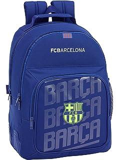 FC Barcelona 2018 Mochila Tipo Casual, 42 cm, 20 litros, Azul