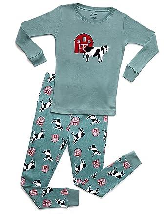 6ff116b24 Amazon.com  Leveret Kids   Toddler Pajamas Boys Girls 2 Piece Pjs ...
