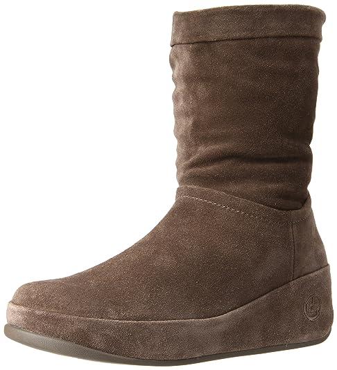 Fitflop Crush Boot, Botines Plataforma para Mujer, Beige-Bungee Cord, 37.5 EU: Amazon.es: Zapatos y complementos