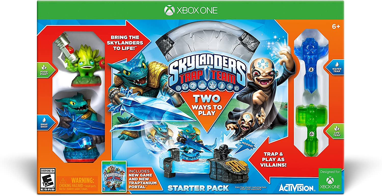 amazon com skylanders trap team starter pack xbox one