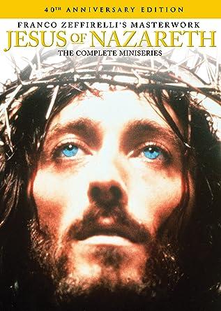 JESUS OF NAZARETH (TV) ROBERT POWELL JONZ 006 Stock Photo, Royalty ...