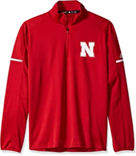 on sale 5a32a 193a8 adidas NCAA Men s Sideline L S 1 4 Zip Pullover Jacket