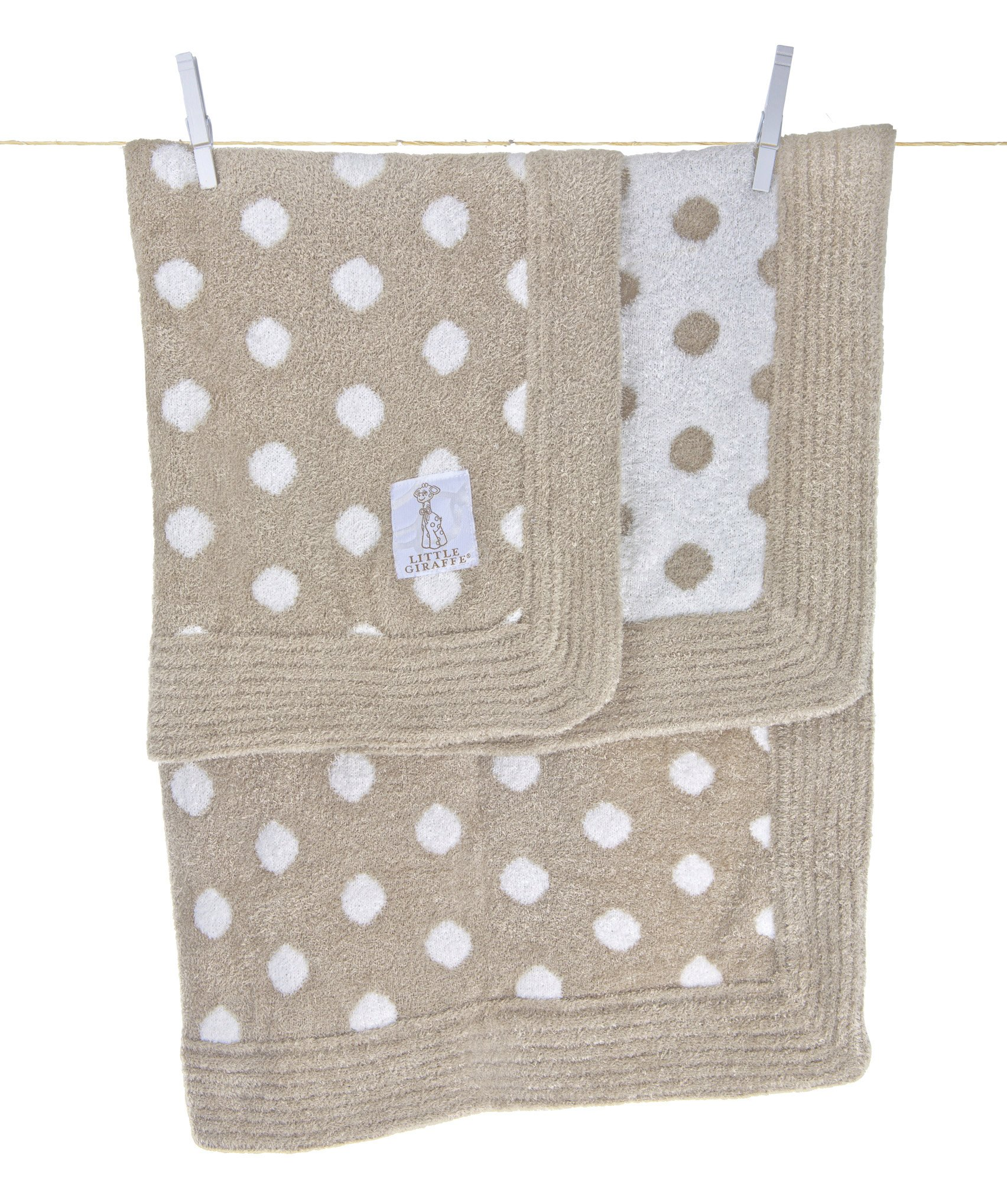 Ritorujirafu Little Giraffe - Dealer imports] Dolce Dot baby blanket (flux) / BOX containing lg0050-03B