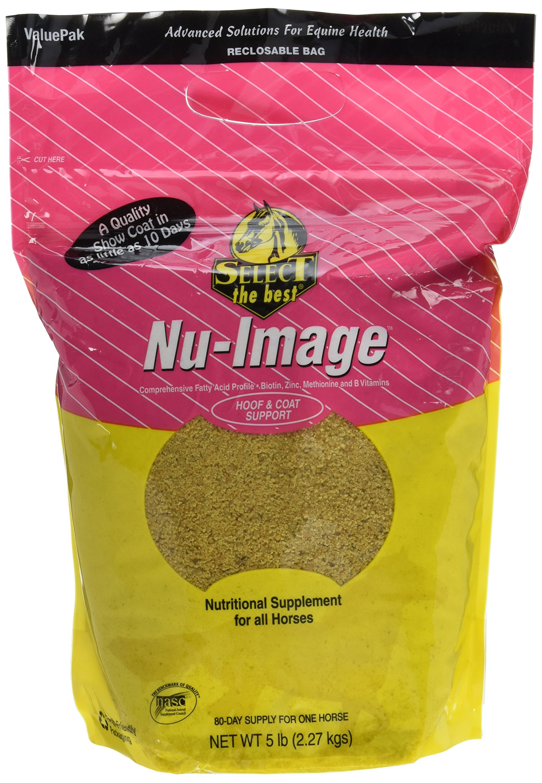 RICHDEL 784299040502 Nu-Image Hoof & Coat Support for Horses, 5 lb by RICHDEL