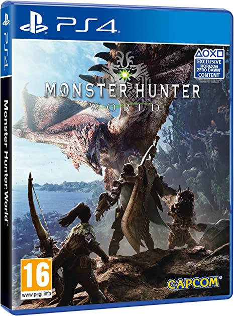 Monster Hunter World Ps4 Amazon Co Uk Pc Video Games
