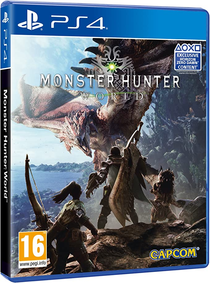 Monster Hunter World (Exclusive Horizon Zero Dawn Content): Amazon.es: Videojuegos