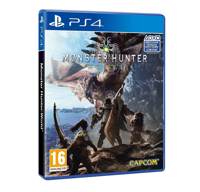 monster hunter world horizon zero dawn