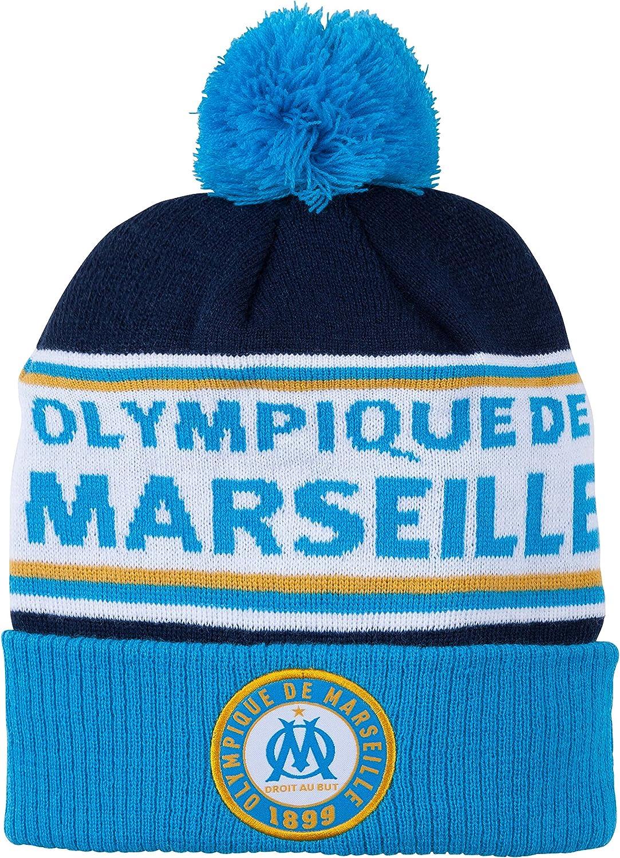 Collection Officielle Taille Enfant OLYMPIQUE DE MARSEILLE Bonnet Om