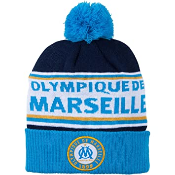 a73488868ab Football Bobble Hat OM - Olympique de Marseille Official Collection - Men s  One Size