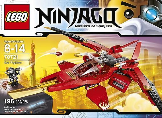 Amazon Com Lego Ninjago 70721 Kai Fighter Toy Toys Games