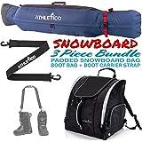 Amazon Com Marker Quot Everything Ski Boot Bag Teal Black