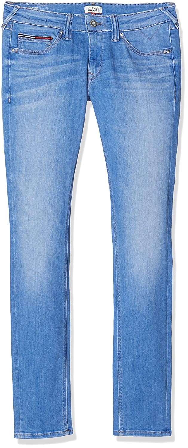 Tommy Jeans Mujer LOW RISE SKINNY SOPHIE EMBST Vaqueros  skinny