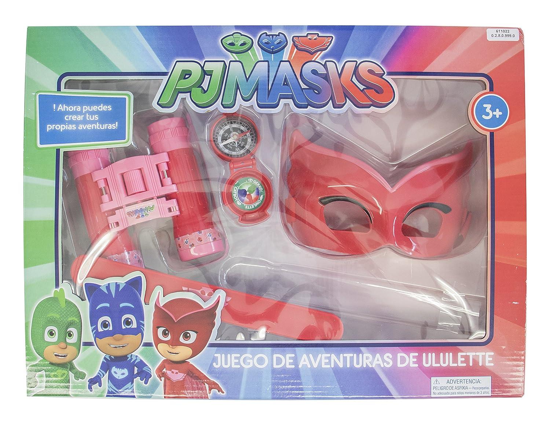 PJ Máscaras 611022 Owlette - Advent Ure Set 4 Piezas., Multicolor: Amazon.es: Juguetes y juegos