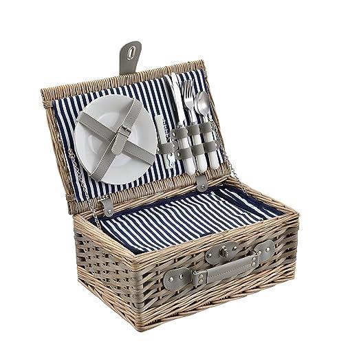 casa.pro] Cesta de pícnic para 2 Personas - Set de pícnic con ...