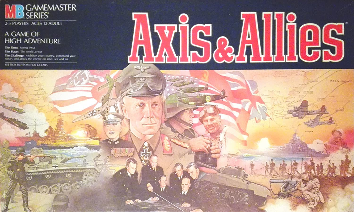 Axis & Allies by MILTON BRADLEY