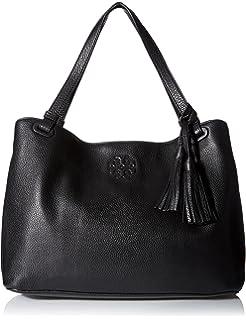 8950082c830 Tory Burch Amanda Double Handle Classic Leather Convertible Hobo ...