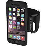 """Mediabridge Armband for iPhone 6S / 6 ( Black ) - Fits 7""""-20"""" Arm Circumferences - Includes Large & Small Strap - Model AB1 (Part# AB1-I6S-BLACKX )"""