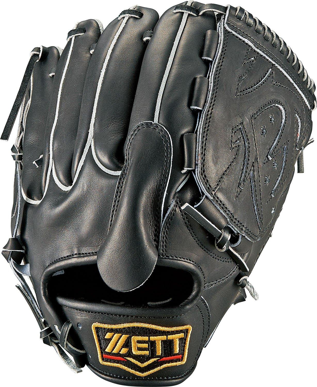 ZETT(ゼット) 野球 硬式 ピッチャー グラブ(グローブ) プロステイタス (右投げ用) BPROG51 ブラック B01LWN3MPD