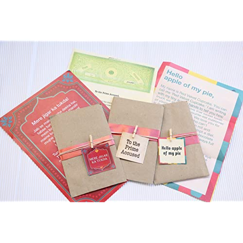 Oye Happy 3 Romantic Cheesy Love Letters Gift Your Girlfriend Boyfriend Husband Wife Fiance On Birthday