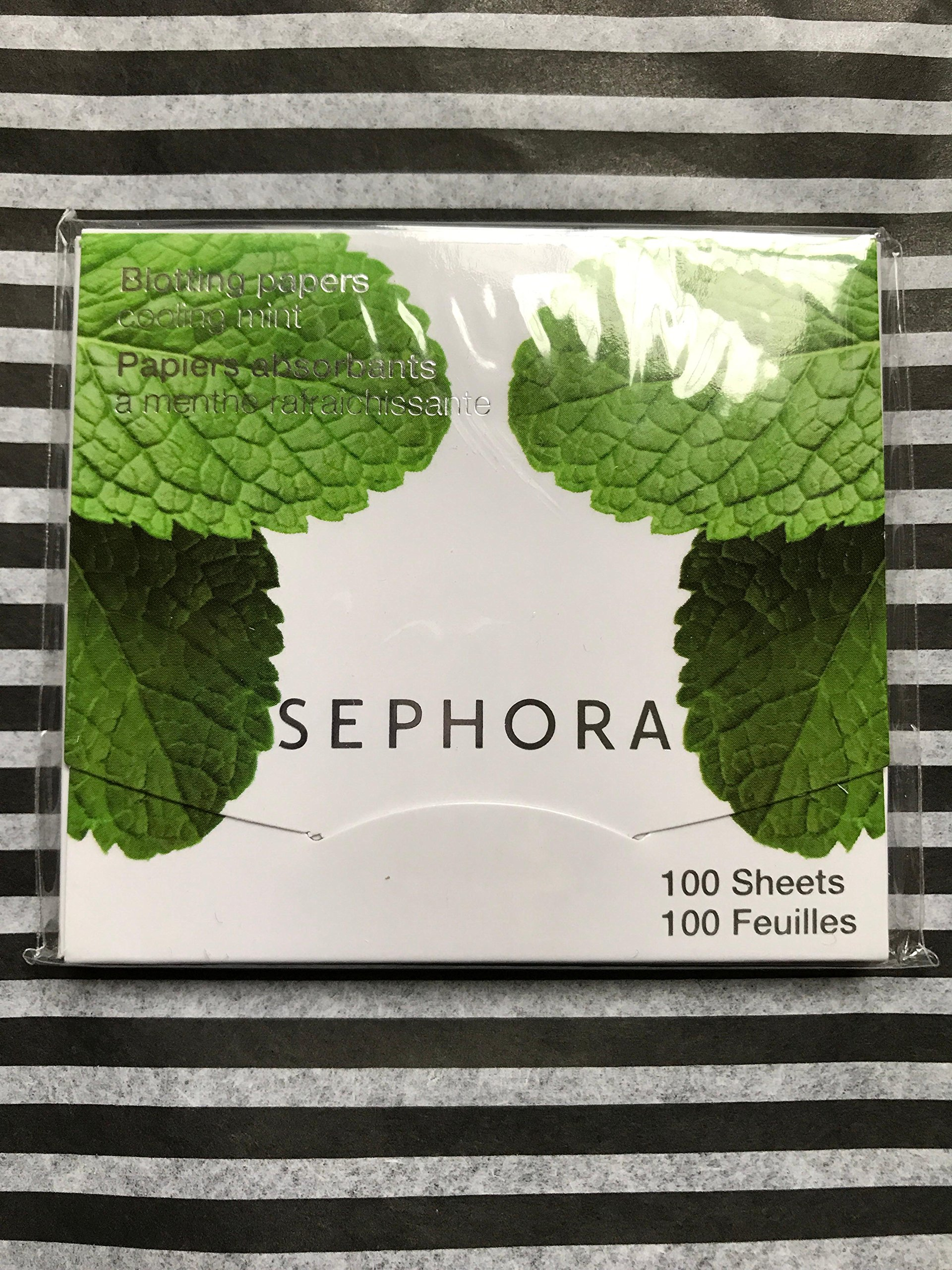 SEPHORA COLLECTION Blotting Papers SIZE 100 Sheets COLOR: Cooling Mint