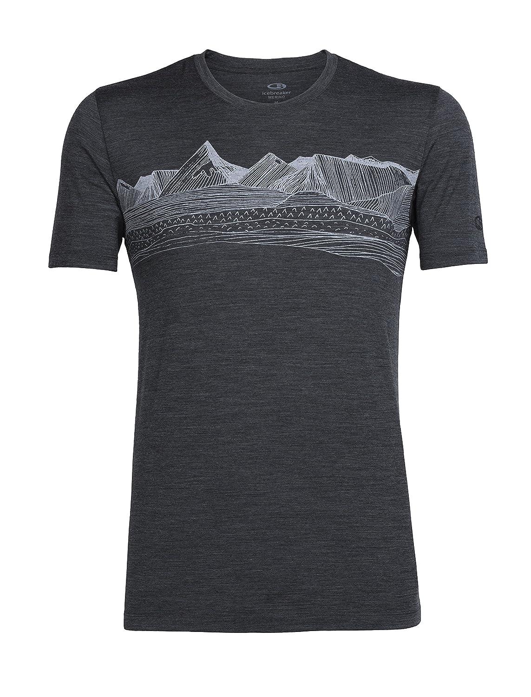 Icebreaker Herren Tech Lite Short Sleeve Crewe Pyrenees T-Shirt