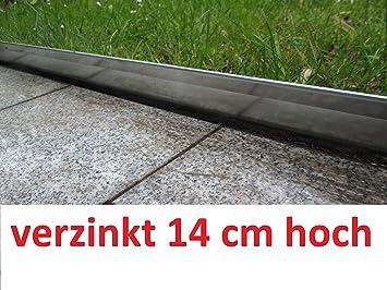 Brandneu Rasenkante 10 m verzinkt Beeteinfassung Beetumrandung Mähkante  GR83