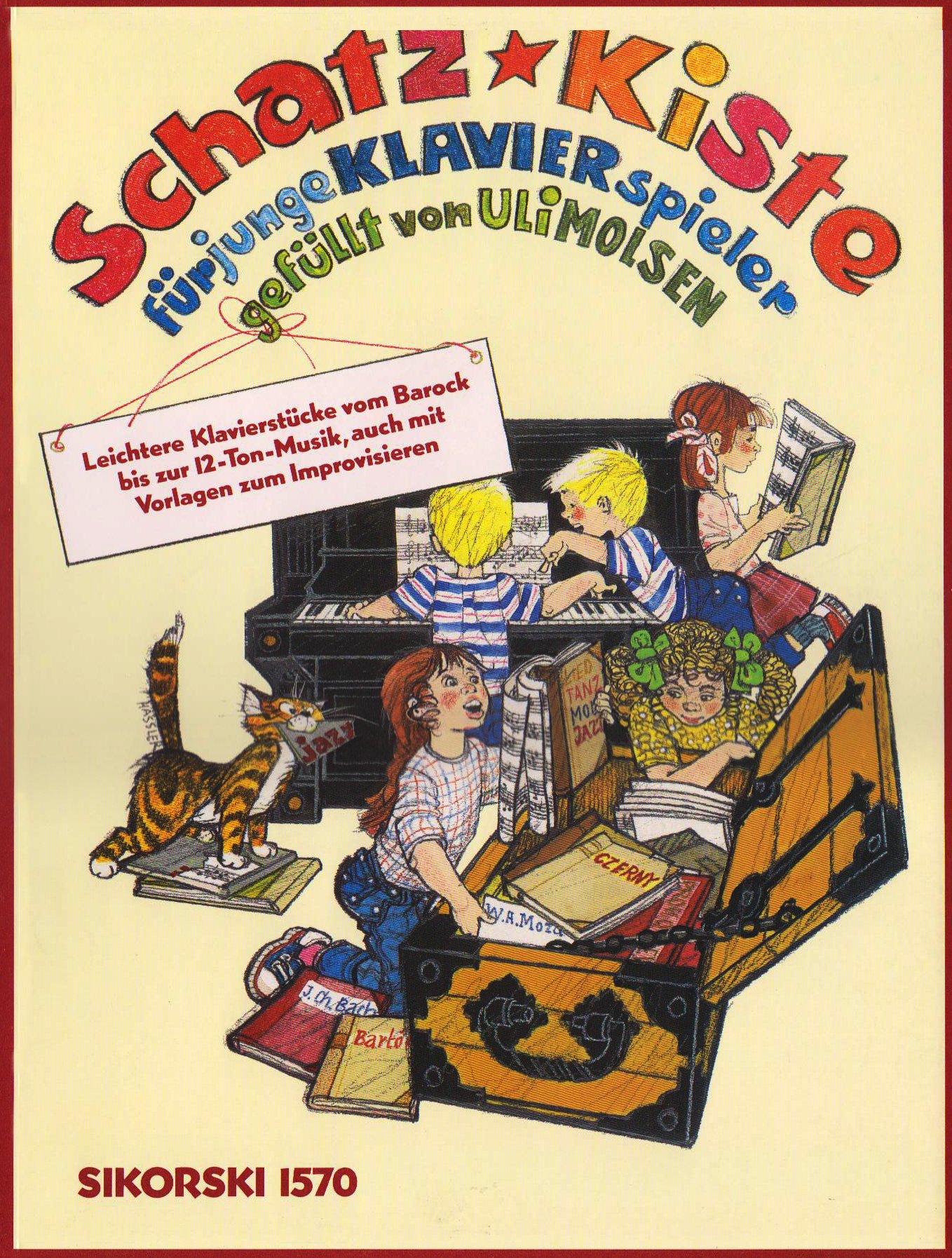 Schatzkiste für junge Klavierspieler