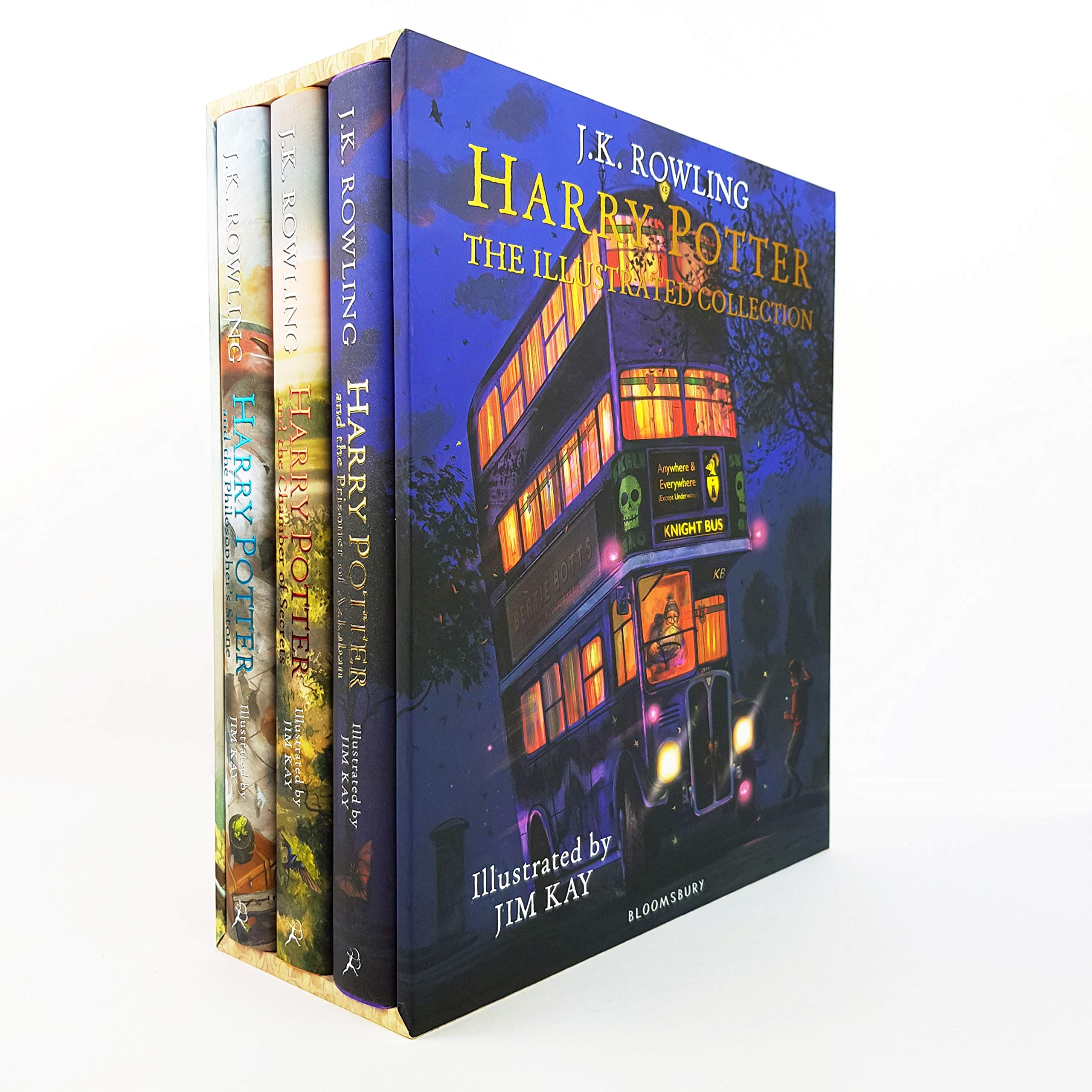 Amazon.fr - Harry Potter - The Illustrated Collection - Rowling, J.K. -  Livres