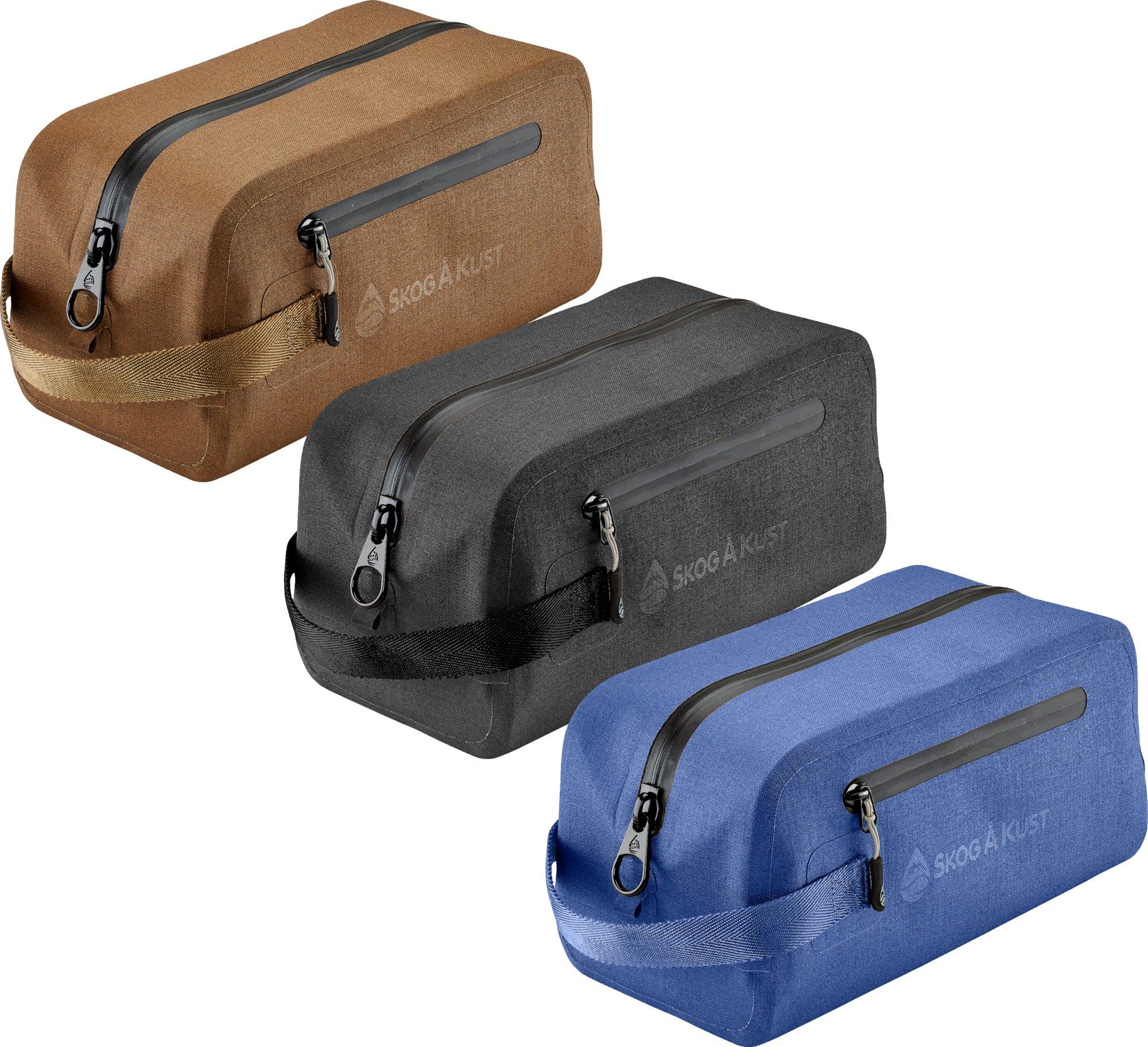 DoppSåk Waterproof & Leak-proof Travel Toiletry Bag | Blue